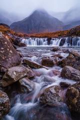 The Fairy Pools, Isle of Skye, Scotland (Anne McKinnell) Tags: fairypools isleofskye scotland landscape nature waterfall