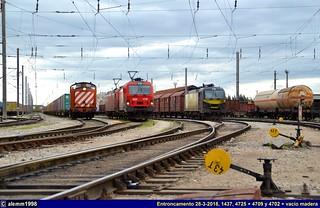 Exposición de locomotivas