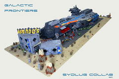 Galactic Frontiers (I Scream Clone) Tags: lego sbs sydlug leviathan scifi ship space