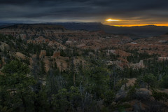 Cloudy Bryce Morning (jed52400) Tags: cloudyday morning sunrise brycecanyonnationalpark utah hoodoos landscapes overlook
