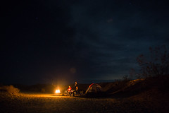 By the Fire (TRI_ART_) Tags: anzaborregostatepark ca desert camping california fire fireplace people firepit night star stars milkyway astrophotography
