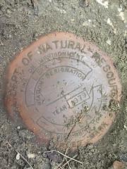 Florida DNR Survey Mark LEO 25 Tallahassee FL (POsrUs) Tags: ©lancetaylor posrus florida leoncounty surveymark