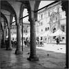 Piazza Popolo_Rolleiflex 3.5B (ksadjina) Tags: 6x6 adoxchs50 ascolipiceno italy marche nikonsupercoolscan9000ed piazzapopolo rodinal rolleiflex35b silverfast analog blackwhite film scan