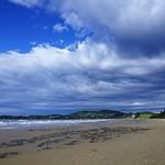 Moeraki Beach without boulders thumbnail