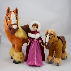 Animator Philippe (2018) with Belle and Philippe from Beauty and the Beast Deluxe Doll Set (2016) (drj1828) Tags: disneyanimatorscollection doll 16inch 2018 disneystore purchase philippe horse beautyandthebeast deboxed belle deluxedollgiftset 2016 12inch