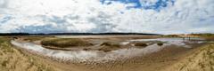 Holkham (jameslf) Tags: beach beachhuts clouds coast norfolk ocean panorama sea sky wellsnextthesea