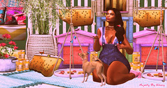 Majesty- Where there is bees, There is honey (Ebony (Owner Of Majesty)) Tags: jian fameshedgo bueno kalopsia kalopsiasl majesty majestysl majestyinteriors majesty2018 cynful reign milkmotion {anc} dustbunny balaclava ryca littlebones ooostudio homedecor homeandgarden homes homesweethome home homey decor decorating bees spring butterflies mood moments springmoments blackqueen blackfemale blackdoll blackgirlmagic virtual virtualliving virtualservices virtualspaces videogames diva femmefatale miss fashion fashionista womensfashion secondlife sl