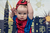 Spider-Man (Katherine Ridgley) Tags: toronto baby babyboy babyfashion cutebaby toddler toddlerboy toddlerfashion cutetoddler spiderman hero superhero comic comicbook marvel peterparker child kid little littleboy family portrait indoor backdrop