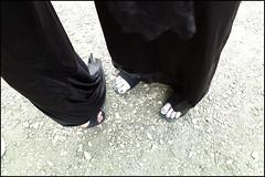 (Paint It Black) (Robbie McIntosh) Tags: leicam9p leica m9p rangefinder streetphotography 35mm leicam autaut candid strangers leicaelmarit28mmf28iii elmarit28mmf28iii elmarit 28mm cosplay comicon feet toes nails death blackpolish