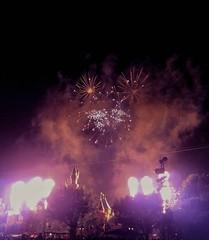 Pixar fireworks. (thnewblack) Tags: lg v30 android smartphone lowlight disneyland california pixar festival fireworks aicam 16mp dark night f16 snapseed