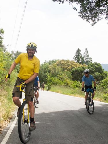Montevina Road climb