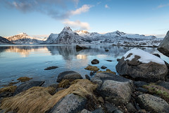 Still Fjord (Keith - Glasgow) Tags: arctic wildphotographyholidays wph winter travel lofoten norway landscapes reflections d850 shore nordland no
