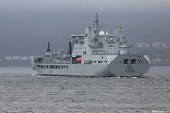 RFA Tidespring, A136, IMO 9655535; Firth of Clyde, Scotland (Michael Leek Photography) Tags: ship warship rfa royalfleetauxiliary rn royalnavy britainsnavy britainsarmedforces navalauxiliary auxiliary tanker replenishmentship clyde firthofclyde scotland scottishlandscapes scottishcoastline scotlandslandscapes scottishshipping westcoastofscotland westernscotland jointwarrior jointwarrior2018 nato navalvessel hmsneptune hmnbclyde natoexercise faslane michaelleek michaelleekphotography