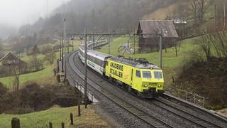 CH SOB Voralpen-Express 018 Arth  16-02-2018