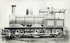 India Railways - East Indian Railways 0-6-0 steam locomotive Nr. 1 (Yorkshire Engine Company, Sheffield 1867) (HISTORICAL RAILWAY IMAGES) Tags: india railway steam locomotive eir 060 1867 ye yorkshireengine