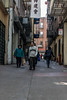 Down the Alley (benakersphoto) Tags: sanfrancisco san francisco sanfran street streetphotography streetphoto streets citystreets city citylife candid nikon nikkor alley chinatown usa buildings