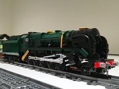 LEGO BR Standard Class 9F 'Evening Star' (Britishbricks) Tags: moc custom eveningstar engine train steam standardclass br 9f lego