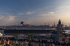 Her Majesty (andreasmally) Tags: queen elizabeth ship hamburg germany great britain royal water wasser deutschland
