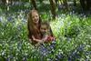 alyssia and caitlin bluebells sisters hug (grahamdale74) Tags: bluebells 2018 alyssia caitlin chel