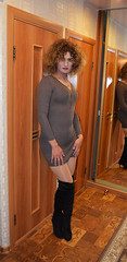 Time to say goodbye. Remember me (Kathryn_cat) Tags: woman tgirl indoor crossdressing adult
