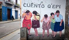 DSC_0258 (Gatol fotografia) Tags: graffiti pared cochabamba bolivia mural chola pollera cochala gatol