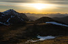 Beinn Duhbchraig Golden Hour. (grahamwilliamson1985) Tags: scotland sunset beinnduhbchraig munro hiking adventure oneperson solo inspiration view valley mountain ridge
