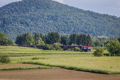 HZ 2062 119, Susnjevo Selo (josip_petrlic) Tags: locomotive diesel 2062 hz hž croatia kroatian eisenbahn railways croatian railway sky freight train hrvatske željeznice željeznica