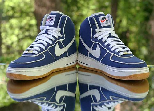 Nike Air Force 1 High '07 LV8 Men's Binary Blue Sail Gum