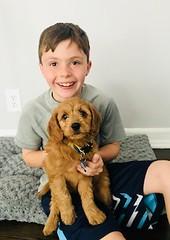 Ella's adorable Nola with new brother!