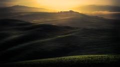 Tuscan sunset. (Massetti Fabrizio) Tags: sunset sunrise sun sunlight siena landscape landscapes light tuscany toscana twilight tramonto italia iq140 phaseone pienza panorami sanquirico italy italiy fabriziomassetti famasse hills heritage