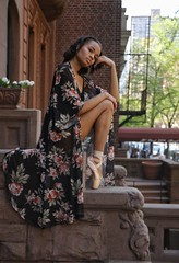 Relaxed (steveedreff) Tags: fashion modeling model woman female girl beautiful pointes steps buildings architecture outdoors dance dancer dancers ballerina ballet