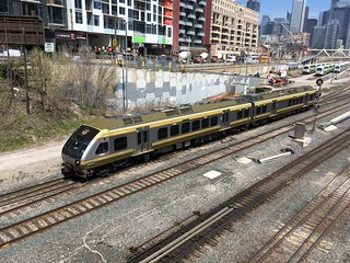 UP Express taking priority over The Canadian