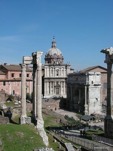 Римський форум, Рим, Італія InterNetri Italy 399