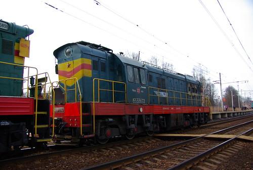 RZD ChME3-2367, Savyolovskoe direction, Vodniki platform