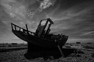 it's nearly all over.....Dungeness
