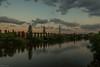 Sonnenaufgang... (hobbit68) Tags: river fluss main water wasser sun sonne sonnenaufgang baum trees spiegelung wolken clouds sky himmel fujifilm xt2 frankfurt fechenheim