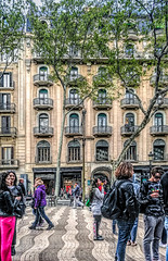People of La Rambla