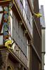 goldene-Waage (ericgöbel) Tags: ffm architecture architektur fake bunt fachwerk goldenewaage domrömer domrömerareal hinterdemlämmchen krönungsweg würzgarten goldeneslämmchen technischesrathaus altstadt schirn frankfurt