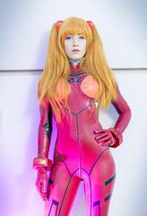 _MG_7606 (Mauro Petrolati) Tags: romics 2018 cosplay cosplayer neon genesis evangelion plugsuit asuka soryu langley claire