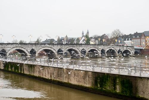 Maastricht. Roman bridge