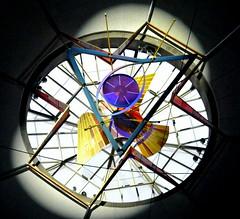 Happy Pentecost (ivlys) Tags: darmstadt st ludwig pfingsten pentecost dreifaltigkeitsfenster window holytrinity kirche church ivlys