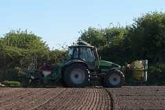 Deutz Fahr Agrotron 150.7 Tractor with a Samco System 4 Row Maize Planter System (Shane Casey CK25) Tags: deutz fahr agrotron 1507 tractor samco system 4 row maize planter killavullen samedeutzfahr deutzfahr df corn sweet traktor trekker traktori tracteur trator ciągnik sow sowing set setting drill drilling tillage till tilling plant planting crop crops cereal cereals county cork ireland irish farm farmer farming agri agriculture contractor field ground soil dirt earth dust work working horse power horsepower hp pull pulling machine machinery grow growing nikon d7200