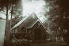 Going to the Chapel (francoislinde) Tags: 2018 fun sepia outing retro vintage vacation holiday chapel entertainment adventure funfair monochrome hotel photoshop postediting mysterious creepy march goldreefcity amusementpark wetplate