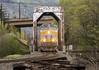 Union Pacific at Hood River, Oregon (Gary L. Quay) Tags: hood river oregon columbia gorge union pacific northwest train rail railroad locomotive trestle spring 2018 gary quay nikon d810 tamron