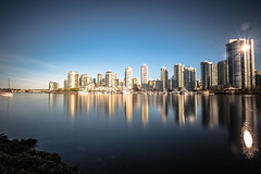 April 23, 2018. (Amanda Catching) Tags: today longexposure light city skyline vancouver false creek