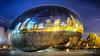 The Bean (paradigmblue) Tags: chicago bean illinois usa sculpture cloudgate lights unitedstates us