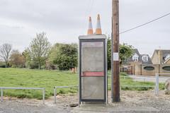 Heath Road (Crusty Streets) Tags: heath road chadwell st mary thurrock essex england uk cones telephone box