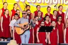 Jeunes Chanteurs d'Acadie ft. Zachary Richard (bayoudragonfly) Tags: festivalinternationaldelouisiane lafayette louisiana musician