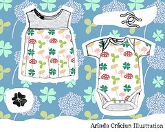 Pattern design for Baby Apparel  @makeartthatsells #matsB #makeartthatsells #babyapparel #babykleidung #kinderkleidung #kidswithstyle #instaillustrate #instaillustration #illustratorsoninstagram #artistsonig #kindermusterchallenge #textiledesign #textiled (arinda7) Tags: ifttt instagram illustration drawing monotype monotypie
