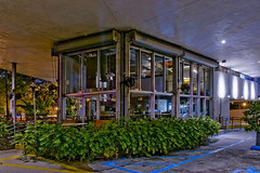 General Tire Building, 5600 Biscayne Boulevard, Miami, Florida, USA / Built: 1954 / Architect: Robert Law Weed  / Floors: 2 / Height: 22.73 ft / Architectural Style: Miami Modern (MiMo) (Photographer South Florida) Tags: generaltirebuilding 5600biscayneboulevard miami florida usabuilt1954architectrobertlawweed floors2 height2273ft miamimodern mimo andiamopizza